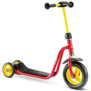 Puky 5173R 1Scooter, Color Rojo