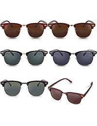 60er Browline Style Vintage Sonnenbrille mit markantem Halbrahmen Besonders für schmalere Gesichter und Kopfformen geeignet
