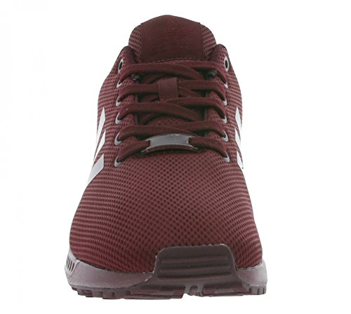 adidas ZX Flux, Baskets Basses Homme Bordeaux