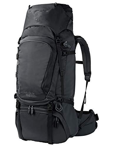 Jack Wolfskin Denali 65 Sac à Dos de Trekking randonnée, Phantom, 73 x 33 x 18 cm