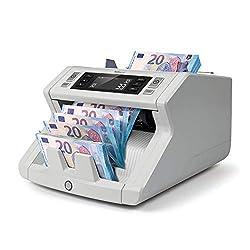 Safescan 2250 - Banknotenzähler für sortierte Geldscheine, mit 3-facher Falschgeldprüfung