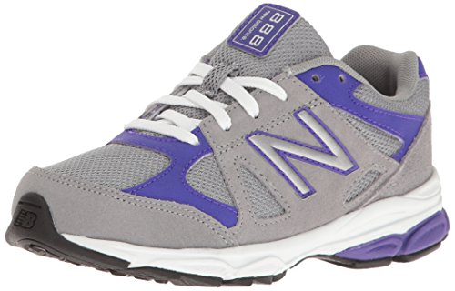 New Balance  Kj888, Jungen Sneaker grau Grey/Navy Grau / Violett