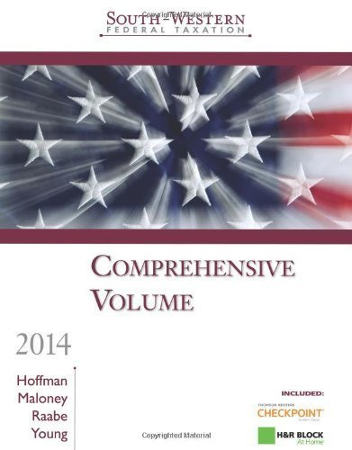 south-western-federal-taxation-2014-comprehensive-professional-edition-with-hr-block-home-tax-prepar