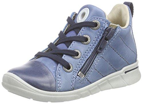 Ecco FIRST Baby Jungen Krabbelschuhe & Puschen Sneaker Blau (MARINE/RETROBLUE 55396)