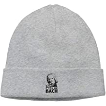 Funny Unisex Fashion Hip-Hop Knitted Hat Mens Womens I Ll Be Bach Composer 61c5dfbda28