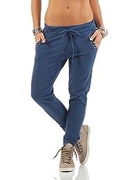 Jogginghose in jeans optik damen