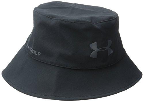 Under Armour 2015 Pour hommes UA Golf Gore-tex Chapeau bob Imperméable Bonnet Coupe vent Storm 3 - Noir, Medium
