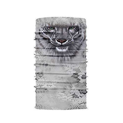 Nahtlose Bandanas Gesicht Maske Stirnband 3D Tiere Maske Kann Als Staubschutz,Sturmhaube,Piratenkappe,Bandana,Helmliner Verwendet Werden. (Tier-stirnbänder)