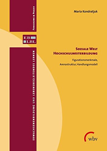 Soziale Welt Hochschulweiterbildung: Figurationsmerkmale, Arenastruktur, Handlungsmodell