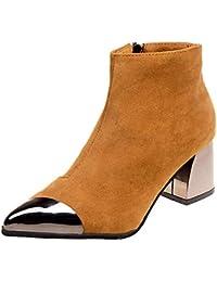 Amazon.es  Marrón - Botas   Zapatos para mujer  Zapatos y complementos 13fb8358c30eb