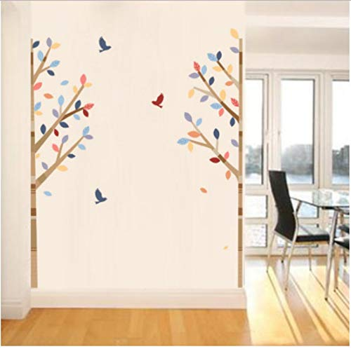 XWSKY Simple Triangle Shape Wall Sticker Christmas Party Wall Decoration Baby Room Decoration Home Decoration Mural Window Wallpaper - Schule Ornament Christmas