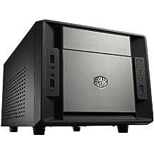 "Cooler Master Elite 120 - Caja de ordenador (placa base mini-ITX, 1 bahía externa de 5,25"", 3 bahías internas de 3,5"", USB 3.0), color negro"