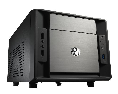 Cooler Master Elite 120 Advanced PC-Gehäuse 'Mini-ITX, USB 3.0, Seitliches Lochgitter' RC-120A-KKN1 -