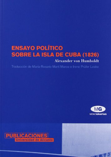 Ensayo político sobre la isla de Cuba (1826) (Monografías)