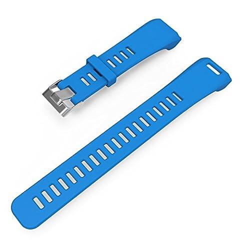 Fiimi Bracelet en silicone pour Garmin VivoSmart HR