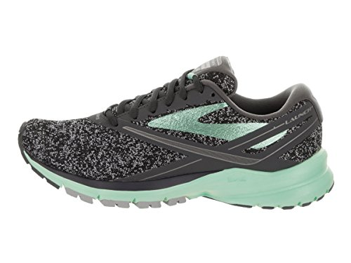 Brooks Launch 4, Chaussures de Course Femme Gris (Anthracite/beach Glass/silver)