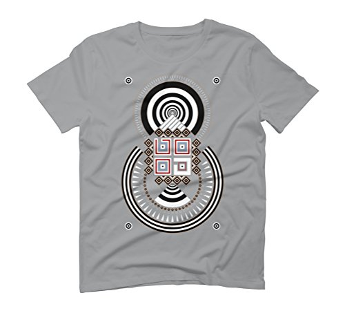 Geometric#04 Men's Graphic T-Shirt - Design By Humans Opal