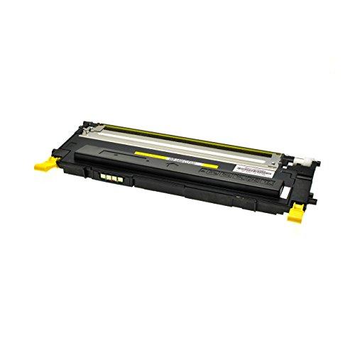 Preisvergleich Produktbild Toner für Samsung CLP- 320 / 325 yellow mit Chip - yellow, 2.000 Seiten, kompatibel zu CLT-Y4072S