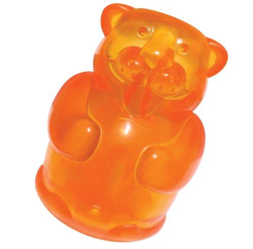 Kong Squeezz Jels Beaver Quietschgeräusche Hundespielzeug, groß (Farben variieren) (Schwein Hundespielzeug Kong)