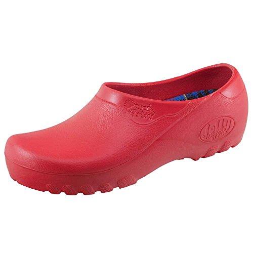 Jolly Fashion Gartenschuhe Rot - Größe 40
