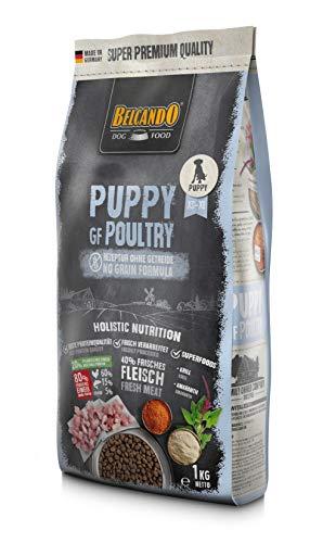 Belcando Puppy GF Poultry [1 kg] getreidefreies Welpenfutter | Welpenfutter ohne Getreide | Alleinfuttermittel für Welpen bis 4 Monate