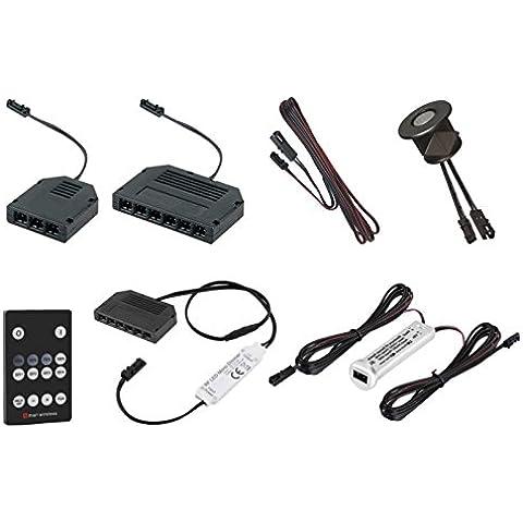Accesorios y material de montaje para 12V LED Leuchten–Cable de conexión–Distribuidor–Interruptor–Fuente de alimentación–Detector de movimiento–Regulador de