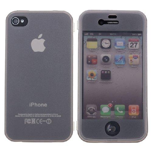 TPU flip Housse Žtui pour iPhone 4 4S violet