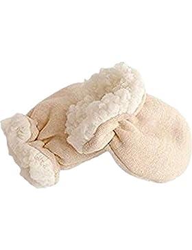WeBeauties Fäustlinge Baby Neugeboren, Handschuhe für Babys Herbst und Winter Warme Handschuh Kinder Fäustling...