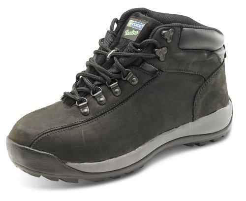 Nubuck Avvio Uomini Lavoro Clicca Leggero Nero Abbigliamento Lavoro Sicurezza Da Per Chukka Gli 1w6wF