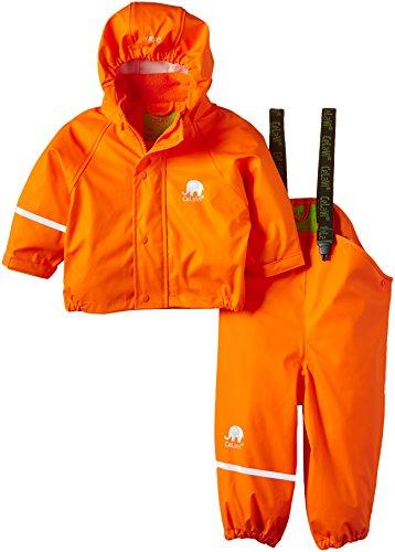 Celavi Basic Rainwear Suit-Solid, Chubasquero para Niños, Naranja (Orange), 70 cm (Talla fabricante: 70 cm) Celavi