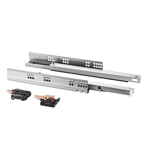 1 Paar SO-TECH® FullSlide Vollauszüge Schubladenauszüge 450 mm für Holzschublade