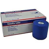 BSN Gazofix Color Fixierbinde, Binde, Verband, Fixierverband, kohäsiv, elastisch 8 cm x 20m, blau, 1 Rolle preisvergleich bei billige-tabletten.eu
