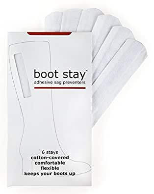 Boot Stay: Adhesive Sag Preventers For Saggy Boots, 6 pcs