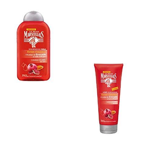 Le Petit Marseillais – Cheveux Kit d'entretien pour cheveux colorés
