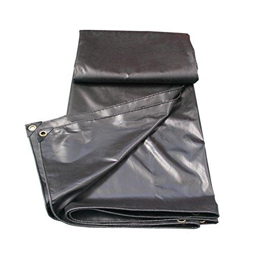 YMXLJF Bâche abri en bois hangar chiffon tissu cargo étanche à la poussière coupe-vent tissu isolation résistant à l'usure anti-oxydation gris foncé - Bâche extérieure