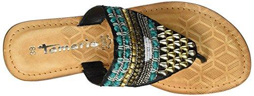 Tamaris 27100, Protezioni Toe Donna Nero (Black Comb 098)