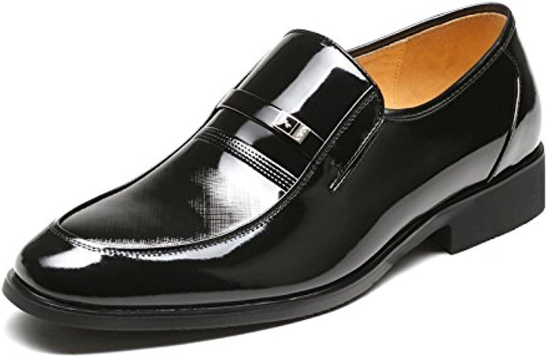 Zapatos de hombre Aemember llevar abrigo para hombres Trajes de Vestir Zapatos ,44, negro