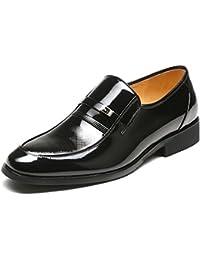 Aemember scarpe da uomo Business Casual Scarpe, Scarpe da uomo messo piede gran numero ,43, nero