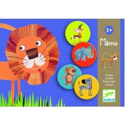Djeco-éducatifs Memo Jungle