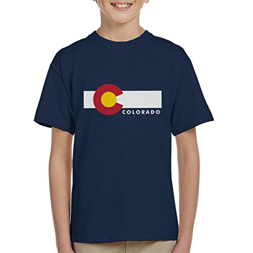 Colorado State Flag Kid's T-Shirt