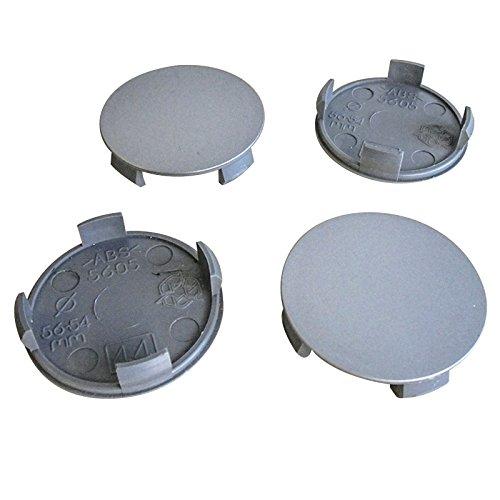 4x Nabenkappen 56 mm / 54 mm Nabendeckel für Universal Vw Nabenkappen 56mm