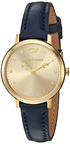 Juicy Couture Mujeres Watch la ultra slim mirando 1901451