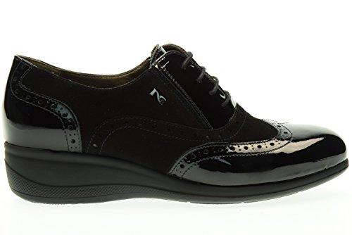 NERO GIARDINI Classic donna sneakers zeppa A616821D/100 Nero