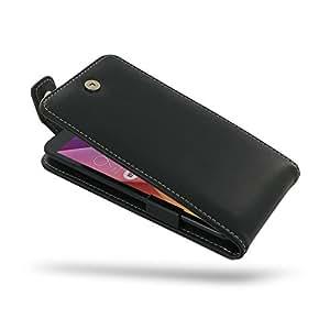 Asus ZenFone 2 ZE551ML Case, Asus ZenFone 2 ZE551ML Leather Case, Asus ZenFone 2 ZE551ML Flip Case, Genuine Handmade Leather Case for Asus ZenFone 2 ZE551ML, Asus ZenFone 2 ZE551ML Protective Case, Asus ZenFone 2 ZE551ML Phone Case - Flip Case for Asus ZenFone 2 ZE551ML (Black) by Pdair