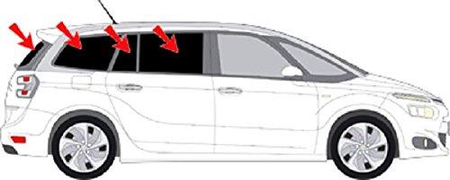 AUTO SOL PROTECCION CITROEN C4 GRAND PICASSO 2013- ART 25141 - 7 SOMBRILLAS PARA COCHES