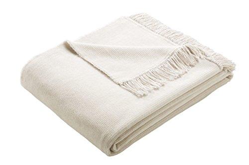 Wohndecke Besonders kuschlige Decke mit Streifen versehen