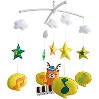 Baby Boy & Girl Bettwäsche Rattle Toy, [Waldmusiker] Baby Geschenk preisvergleich bei kleinkindspielzeugpreise.eu