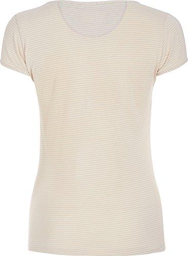 Pip T-Shirt Single-Jersey Ecru