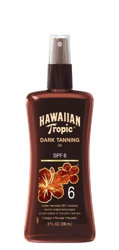hawaiian-tropic-sunscreen-dark-tanning-oil-sun-care-sunscreen-spray-spf-6-8-ounce-by-hawaiian-tropic