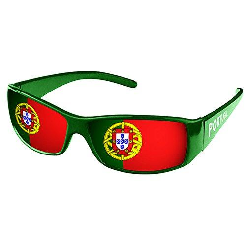 Piersando® Sonnenbrille WM & EM Fanartikel Portugal